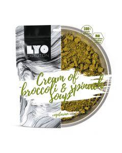 Liofilizat Lyofood ZUPA KREM brokułowo-szpinakowy 30g (na porcję 370g, 110 kcal)