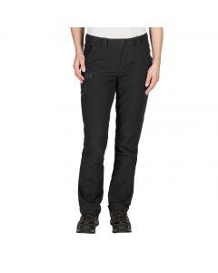 Softshellowe spodnie damskie CHILLY TRACK XT PANTS WOMEN black