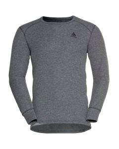 Męska koszulka termoaktywna Odlo ACTIVE WARM ECO LS Baselayer steel grey