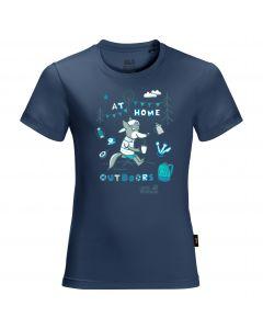 Koszulka dziecięca HAPPY CAMPER T KIDS dark indigo