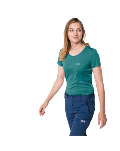 Koszulka sportowa damska TECH T W emerald green