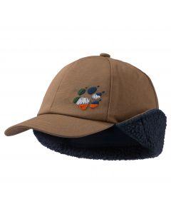 Czapka dziecięca STORMY WHITEVILLE CAP K Walnut Brown