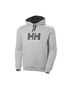 Bluza z kapturem Helly Hansen Logo Hoodie grey maelange