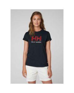 Koszulka damska Helly Hansen LOGO T-SHIRT navy