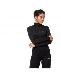 Koszulka funkcjonalna damska ARCTIC XT HALF ZIP WOMEN black