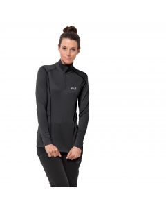 Damska koszulka termoaktywna ARCTIC XT HALF ZIP WOMEN black