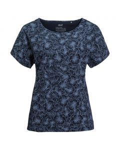 Damska koszulka HIBISCUS FLOWER T midnight blue all over