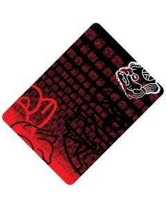 Chusta wielofunkcyjna 4Fun MULTIFUNCTIONAL SCARF 8 in 1 mask red