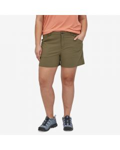 "Spodenki damskie Patagonia Quandary Shorts 5"" fatigue green"