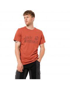 Koszulka męska  BRAND LOGO T M saffron orange