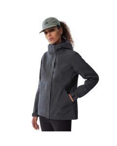 Damska kurtka przeciwdeszczowa The North Face DRYZZLE FUTURELIGHT dark grey heather