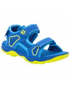 Sandały dziecięce TARACO BEACH SANDAL K blue / lime