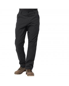 Spodnie softshellowe męskie WINTER TRAVEL PANTS black