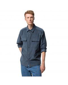 Koszula męska sztruksowa NATURE SHIRT M Dark Slate
