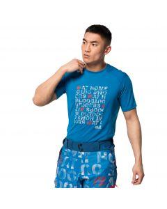Męski T-shirt BIG SKY T M Blue Pacific