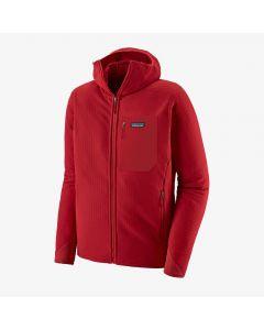 Polar Patagonia R2 TechFace Hoody classic red