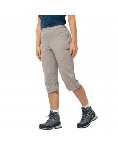 Spodnie softshell damskie ACTIVATE LIGHT 3/4 PANTS moon rock