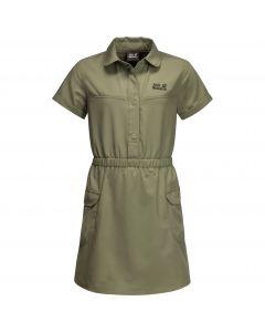 Sukienka dla dziewczynki TREASURE HUNTER DRESS GIRLS khaki