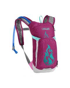 Plecak rowerowy dla dzieci Camelbak Mini M.U.L.E. 50 oz baton rouge/flames