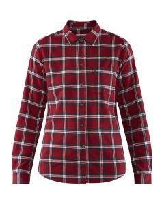 Koszula damska Fjallraven Ovik Flannel Shirt deep red