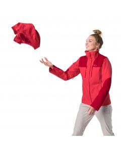 Kurtka turystyczna damska JASPER JKT W tulip red