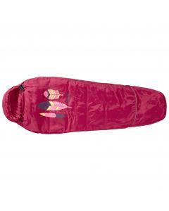Śpiwór dziecięcy GROW UP KIDS azalea red