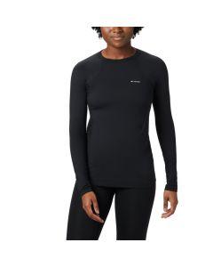 Damska koszulka termoaktywna Columbia Midweight Stretch LS Top black