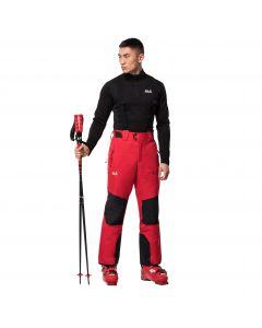Spodnie narciarskie męskie SNOW SUMMIT PANTS M red fire
