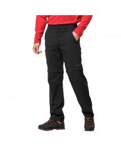 Spodnie z odpinanymi nogawkami OVERLAND ZIP AWAY M black