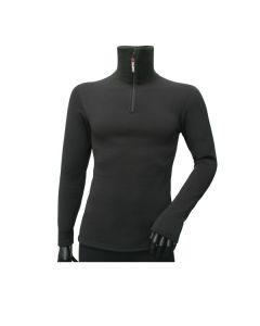 Bluza-golf z zamkiem KWARK CLASSIC black