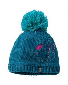 Czapka PAW KNIT CAP KIDS celestial blue