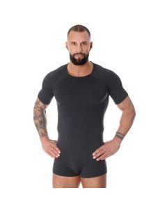 Termoaktywna koszulka męska Brubeck Active Wool SS11710 graphite