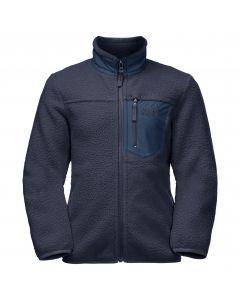 Bluza polarowa dziecięca ICE CLOUD JACKET K Night Blue