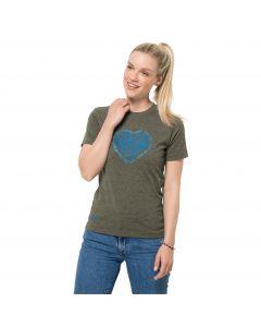 Damska koszulka z krótkim rękawem SEA GROUND T W Grape Leaf
