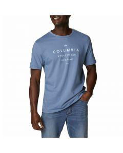 T-shirt męski Columbia Path Lake Graphic II blue