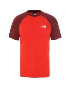 T-shirt The North Face Tanken Raglan Tee fiery red