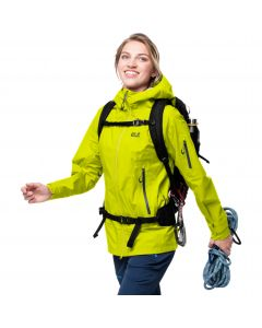 Kurtka trekkingowa damska EXOLIGHT PRO JACKET W flashing green