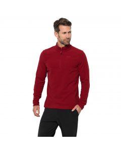Męska bluza polarowa ARCO MEN dark lacquer red stripes