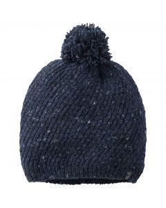 Czapka damska zimowa MERINO CAP WOMEN night blue