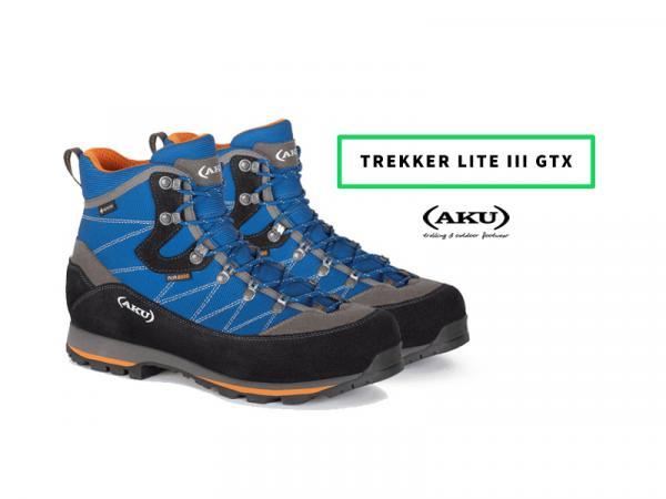 AKU Trekker Lite III GTX - test butów trekkingowych