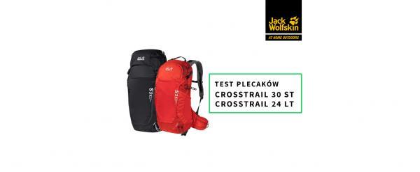 Test plecaków z serii Jack Wolfskin Crosstrail