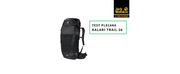 Jack Wolfskin Kalari Trail 36 - test plecaka