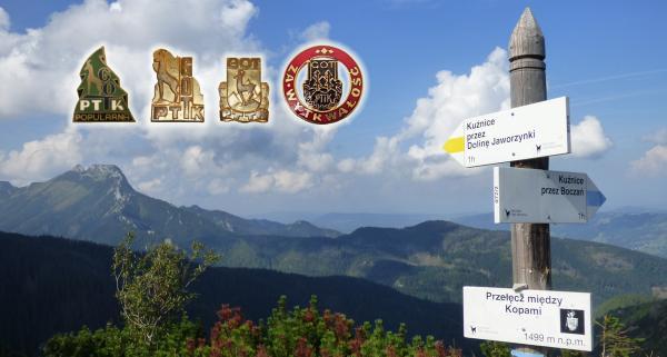 Poznaj i zdobywaj górskie odznaki turystyczne PTTK