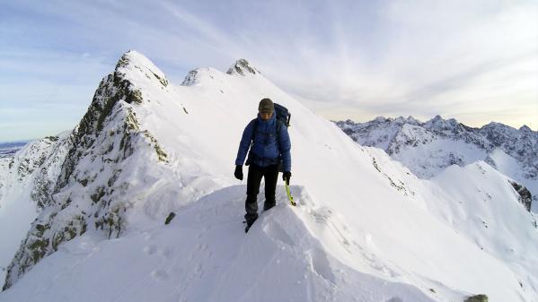 Orla Perć na Nowy Rok. Fotoreportaż z zimowej wspinaczki w Tatrach