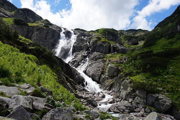 Wodospad Siklawa – poznaj największy wodospad w Tatrach