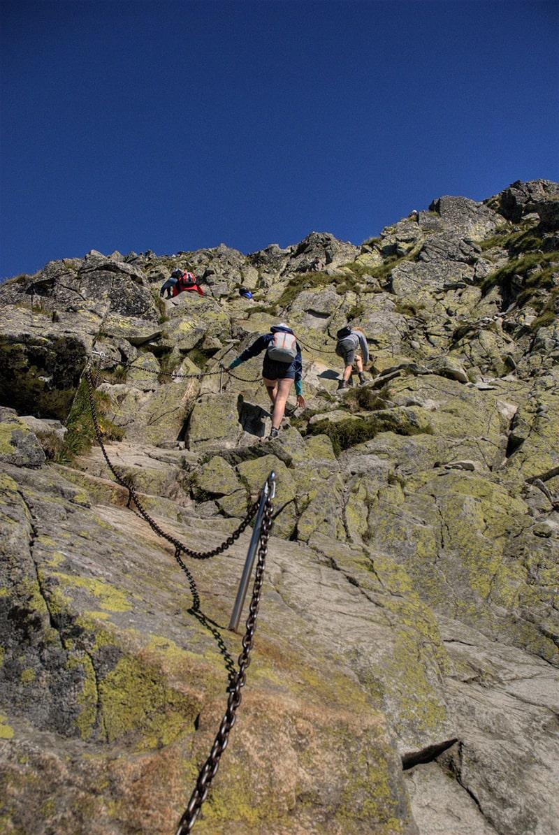 Najtrudniejsze szlaki w Tatrach: o jakich mowa i co należy o nich wiedzieć?
