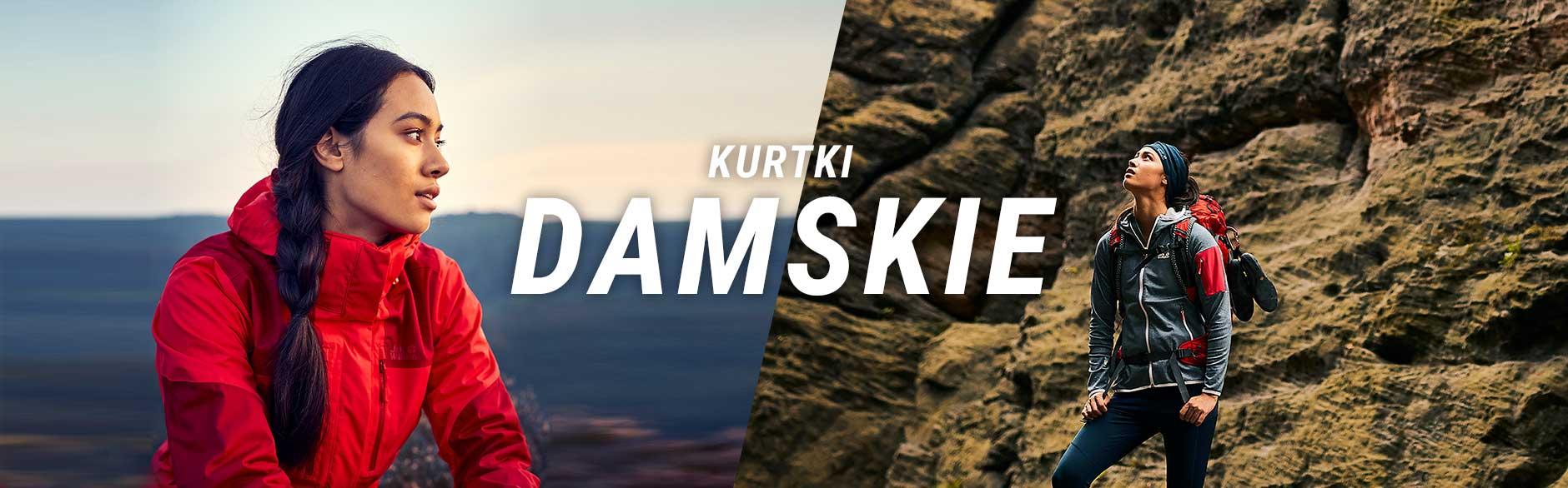 Kurtki Damskie Jack Wolfskin