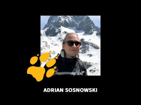 Adrian Sosnowski Autor Wilczego Bloga