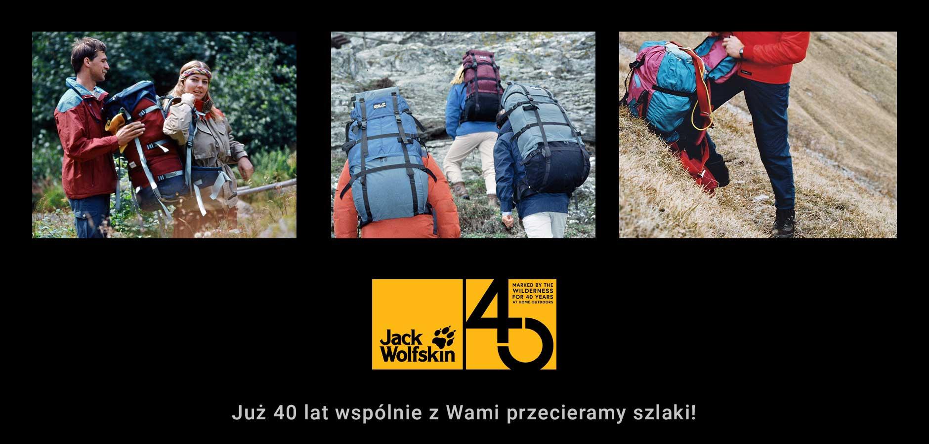 40 rocznica istnienia Jack Wolfskin