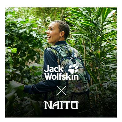 Jack Wolfskin x Naito